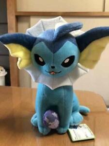 Pokemon Plush Doll Eevee Vaporeon Pocket Monster Height 28cm Width 17cm