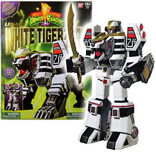 Power Rangers Legacy ~ WHITE TIGERZORD ACTION FIGURE w/DIE CAST PARTS ~ Bandai