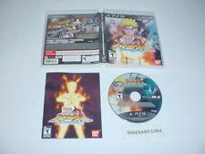 NARUTO SHIPPUDEN: ULTIMATE NINJA STORM GENERATIONS complete - Playstation 3 PS3