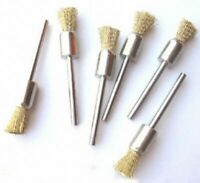 New 10 pcs Brass Pencil Brush For Die grinder Rotary Tools Dremel