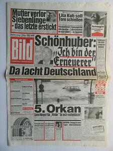 Bild Zeitung 01.03.1990,  Daryl Hannah, Dieter Bohlen, Schönhuber