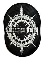 CARPATHIAN FOREST ( OVAL ) EMBROIDERED PATCH