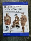 The Britis Army in the World War I, WWI color Book, Osprey publishing 2005