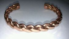 Copper Magnetic Bracelet Therapy Arthritis Pain Healing Bangle