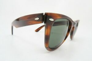 Vintage B&L Ray Ban WAYFARER sunglasses made in the USA 5024 etched BL KILLER **