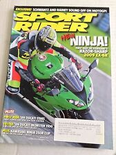 Sport Rider Magazine Ninja 2009 ZX-6R  Ducati 1100 March 2009 032317NONRH