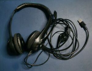 Logitech H390 Wired Headset, Stereo Headphones with Microphone for zoom calls