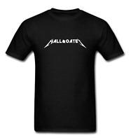 Mens Hall and Oates Logo T-Shirt Black