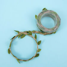 Artificial Leaves Twine String With Leaf Silk Leaves Flower Garland Lovely Decor