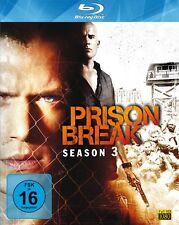 PRISON BREAK, Season 3 (4 Blu-ray Discs) NEU+OVP