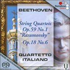 Beethoven: String Quartets Op. 59 No. 1 [SACD], New Music