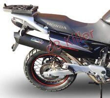 SILENCIEUX GPR FURORE ALU NOIR HONDA TRANSALP XL 650 V 2000/07