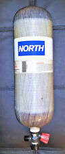 (NIB) North by Honeywell, 60 Minute High Pressure (4500 psi) Carbon Air Cylinder