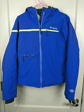Columbia Roffe Omni-Heat Sealed Seams Blue Winter Ski Snowboard Jacket Women's L
