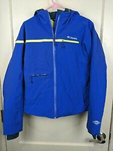 Columbia Roffe Omni-Heat Sealed Seams Blue Winter Ski Snowboard Jacket Women's L