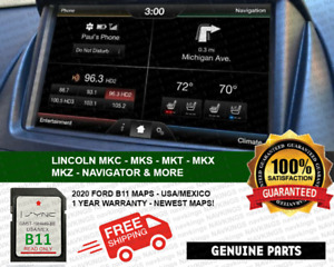LATEST B11 FORD LINCOLN NAVIGATION SD CARD GPS MAP UPDATE SYNC UPDATES B10 B9 A9