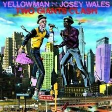 Two Giants Clash by Yellowman/Josey Wales (Vinyl, Jun-2014, Greensleeves Records)