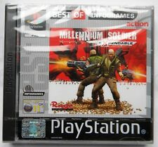 MILLENNIUM SOLDIER EXPENDABLE PS1 PLAYSTATION ONE PAL ITA