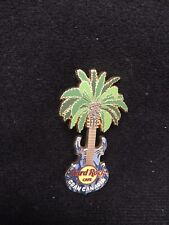 Hard Rock Cafe Gran Canaria Spain Palm Tree Guitar Pin from Old Location