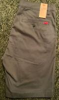 Levi's Men's Dark Slate XX Chino Standard Taper Fit Shorts Size 36 85229006 New