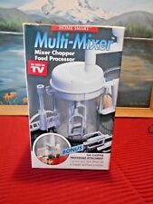 Home Smart Multi-Mixer ~ Food processor ~ Food Chopper ~ As see on TV ~ NEW