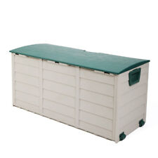 Outdoor Garden Storage Shed Patio Garage Tool Box Backyard Deck Cabinet