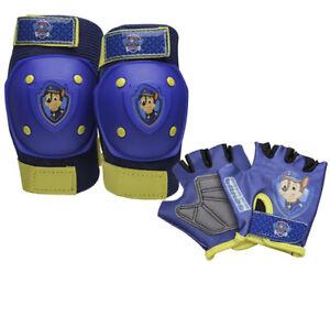 Nickelodeon Paw Patrol Knee, Elbow, & Gloves Protective Pad Set, NIP, Free Ship