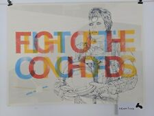 """Gig Poster - Flight of the Conchords - """"Bowie"""" - Radio City Music Hall"""