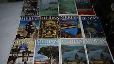 Merian Zeitschriften 12 Stück Sammlung Algave Paris Kanarische Inseln Bodensee