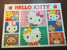 """Ravensburger Hello Kitty 300 Piece Jigsaw Puzzle """"Hello Kitty Friends"""" COMPLETE"""