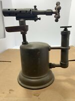 Antique Otto Bernz Brass Blow Torch Marked