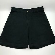 Brooks Sport Shorts Size 34 Black 100% Cotton Brooks Brothers Distressed