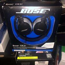 NEW Bose OE2i Audio Headphones remote & microphone   iPod,iphone,ipad- BLACK