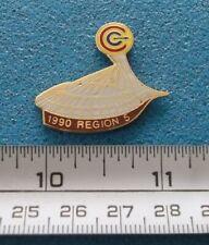 STADE OLYMPIQUE MONTRÉAL OLYMPIC STADIUM RÉGION 5 1990 CCE PIN # O649