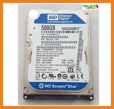 "Disque Dur Western Digital Bleu 500 GO 2.5"" 5400 TR/MIN Hdd Sata WD500BEVT"