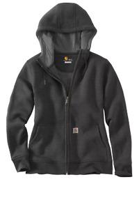 Carhartt 102788 Womens Clarksburg FULL Zip Hooded Sweatshirt [DSSM-BN25-2788]