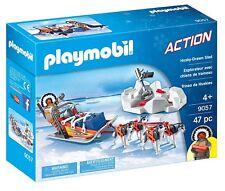 Playmobil Action 9057. Traîneau Husky . Plus de 4 ans