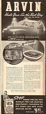 1941 AD ARVIN Car Heaters Dash or Underseat  Heat withFree Hot Water111315