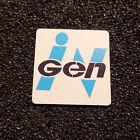 InGen Corporation Jurassic Park Logo Label Decal Case Sticker Badge 470