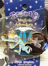 DISNEY LE 2000 STITCH'S MAGICAL ADVENTURE HAUNTED MANSION HITCHHIKING GHOST PIN