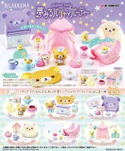 Re-ment Miniature San-X Rilakkuma Dream Pajama Party 750yen rement Full set of 6