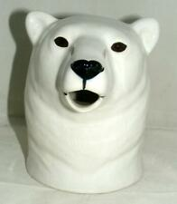 More details for quail ceramics large polar bear jug 647