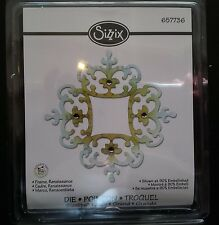 Sizzix Sizzlits FRAME RENAISSANCE Large Die Cutter Fits Cuttlebug 657736