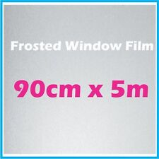 90CM x 5m Privacy Frosted Frost Frosting Window Film Sticker