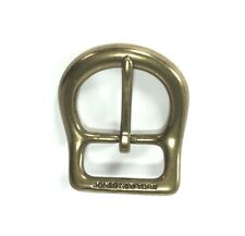 "Solid Brass Pin Belt Buckle for Women's by Jones New York 2"" x 2 1/4"""