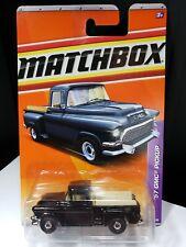 2011 MATCHBOX BLACK 1957 GMC PICKUP TRUCK - A20