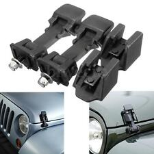 2X Engine Lower Hood Latches Catch Brackets For Jeep Wrangler 97-06 TJ 11210.09