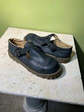 Dr Martens Size UK 2 - US 3 Youth KidsMary Jane Black Leather 6450 England Doc