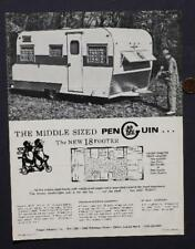 1970s Elkart,Indiana Penguin 5th Wheel-Motor Homes-Rvs Camper Truck brochure!*