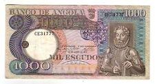Angola 1000 1.000  escudos       1973  SPL/QFDS  XF/AU     Pick 108  lotto 2766